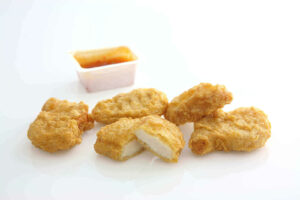 Can dogs eat chicken nuggets - dog ate chicken nugget